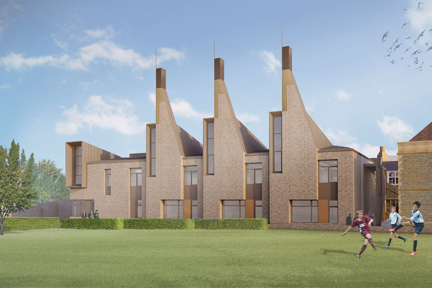 Charterhouse School Artists Impression 1